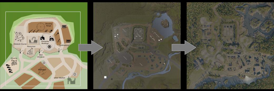 koncept mapy